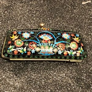 EXTREMELY UNUSUAL antique metal coin purse 🍒🐢